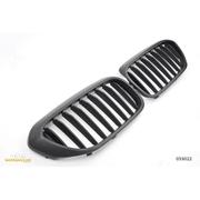 Решетки радиатора (ноздри) BMW G30 G31 горбатые сдвоенные M5 стиль черные глянцевые GCP-053022