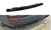 Центральный задний сплиттер BMW 5 F11 M-PACK - without vertical bars (fits two double exhaust ends)