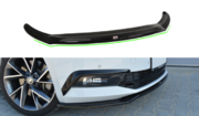 Передний сплиттер v.2 Skoda Superb B8 3V 2016-
