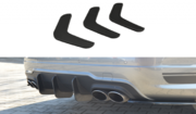 Задний диффузор v.2 Mercedes C W204 AMG-Line (дорестайл)