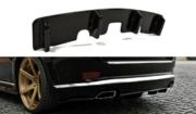 Центральный задний сплиттер Jeep Grand Cherokee WK2 Summit рестайлинг (with a vertical bar)