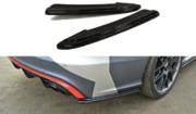 Задний боковой сплиттер AUDI RS6 C7