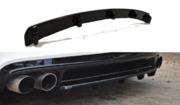 Центральный задний сплиттер AUDI TT MK2 RS (with a vertical bar)