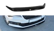 Передний сплиттер v.1 Skoda Superb B8 3V 2016-