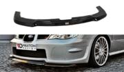 Передний сплиттер Subaru Impreza WRX STI (HAWKEYE)