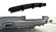 Центральный задний сплиттер BMW 6 Gran Coupe MPACK (with a vertical bar)