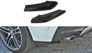 Задний боковой сплиттер BMW X4 M-PACK