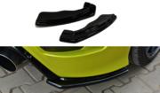 Задний боковой сплиттер BMW 1 F20 M-Power (дорестайл)