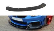 FRONT RACING SPLITTER v.3 BMW 4 F32 M-PACK & M-Performance