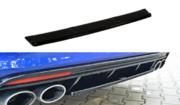 Центральный задний сплиттер VW GOLF MK7 R универсал (without a vertical bar)