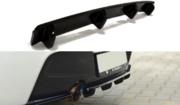 Центральный задний сплиттер BMW 1 F20 M-Power (with vertical bars)