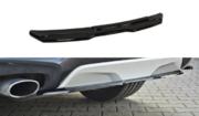 Центральный задний сплиттер BMW X4 M-PACK (without a vertical bar)