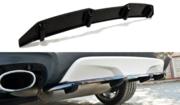 Центральный задний сплиттер BMW X4 M-PACK (with a vertical bar)