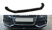 Передний сплиттер v.2 AUDI A4 B8 (дорестайл)