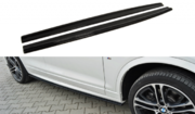 Боковые (юбки) пороги DIFFUSERS BMW X4 M-PACK
