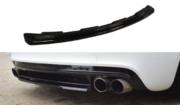 Центральный задний сплиттер AUDI TT MK2 RS (without vertical bars)