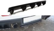 Центральный задний сплиттер Mitsubishi Lancer Evo X (with vertical bars)
