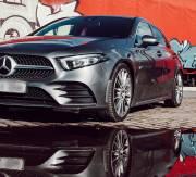 Mercedes W177 A160, A180, A180d, A200, A220, A250, 2WD с многорычажной подвеской пружины с занижением -25мм Vogtland 951756