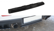 Центральный задний сплиттер Mitsubishi Lancer Evo X (without vertical bars)