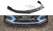 Сплиттер губа накладка переднего бампера HYUNDAI I30N Maxton Design V.3