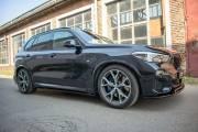 Накладки лезвия порогов BMW X5 G05 M-PACK Maxton Design