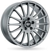 Диск OZ Racing Superturismo GT R15 6,5J 5x112 ET35 DIA75,0 Race Silver Black Lettering