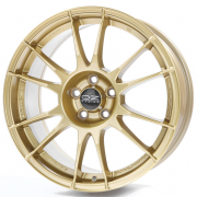 Диск OZ Racing Ultraleggera R17 8J 5x114,3 ET48 DIA75,0 Race Gold