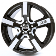 Диск OZ Racing Versilia R19 8J 5x114,3 ET35 DIA75,0 Matt Black Diamond Cut