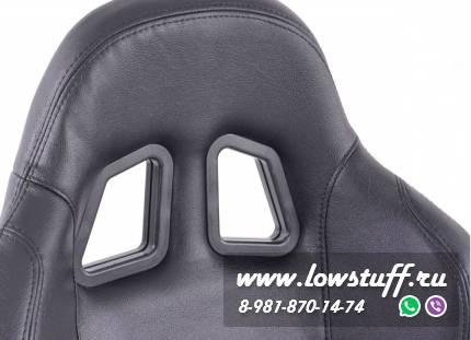Сиденья автомобильные полуковши черные искусственная кожа FK Automotive Charleston FKRSE12011