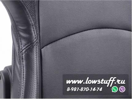Сиденья автомобильные полуковши черные искусственная кожа FK Automotive FKRSE411-1/411-2