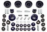 Комплект полиуретановых сайленблоков подвески Seat Leon 1M 4x4 19мм 48 деталей TA Technix 85VW004-31914