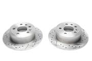 Тормозные диски 270mm x 10mm перфорированные с насечками Opel Omega A TA-TECHNIX EVOBS1015P