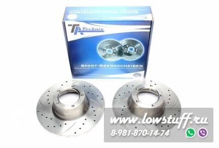 Тормозные диски 270mm x 14,3mm перфорированные с насечками Ford Transit TA-TECHNIX EVOBS1020P