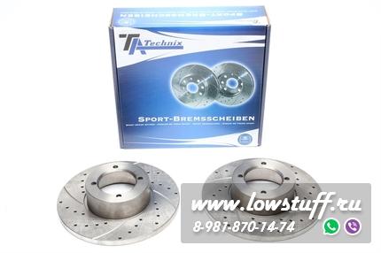 Тормозные диски 246mm x 12,6mm перфорированные с насечками Lotus Esprit TA-TECHNIX EVOBS1024P