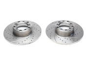 Тормозные диски 278mm x 12,6mm перфорированные с насечками Mercedes-Benz W114 W116 W126 W123 W121 TA-TECHNIX EVOBS1029P
