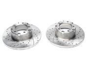 Тормозные диски 280mm x 16mm перфорированные с насечками Mercedes-Benz T2 TA-TECHNIX EVOBS1043P