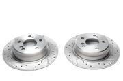Тормозные диски 278mm x 9mm перфорированные с насечками Mercedes-Benz SL R129 TA-TECHNIX EVOBS1241P