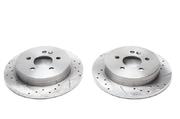 Тормозные диски 285mm x 15mm перфорированные с насечками Mercedes-Benz M-Klasse W163 TA-TECHNIX EVOBS1370P