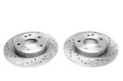 Тормозные диски 260mm x 12mm перфорированные с насечками Mercedes-Benz A-Klasse W168 TA-TECHNIX EVOBS1384P