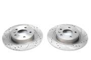 Тормозные диски 292mm x 12mm перфорированные с насечками Opel Astra J TA-TECHNIX EVOBS1888P