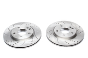 Тормозные диски 270mm x 22mm перфорированные с насечками Mercedes-Benz Vaneo TA-TECHNIX EVOBS20053P
