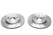 Тормозные диски 276mm x 22mm перфорированные с насечками Mercedes-Benz A-Klasse A190 TA-TECHNIX EVOBS20067P