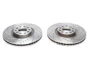 Тормозные диски 321mm x 30mm перфорированные с насечками Audi A6/S6 TA-TECHNIX EVOBS20337P