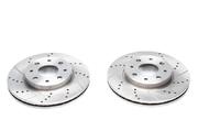 Тормозные диски 240,5mm x 20mm перфорированные с насечками Fiat 500 TA-TECHNIX EVOBS20393P