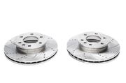 Тормозные диски 299,6mm x 28mm перфорированные с насечками Mercedes-Benz Sprinter TA-TECHNIX EVOBS20455P