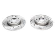 Тормозные диски 280mm x 25mm перфорированные с насечками BMW 5er E12 TA-TECHNIX EVOBS2046P