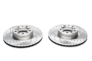 Тормозные диски 300mm x 28mm перфорированные с насечками Mercedes-Benz S-Klasse W126 TA-TECHNIX EVOBS2048P