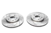 Тормозные диски 295mm x 29mm перфорированные с насечками Opel Antara TA-TECHNIX EVOBS20717P