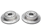 Тормозные диски 303mm x 20mm перфорированные с насечками Opel Antara TA-TECHNIX EVOBS20770P