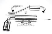 TA-Technix Глушитель нерж 2x76мм VW Golf 5 EVOG5E276S-1